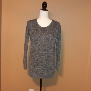 Fortitude active sweater grey, size small